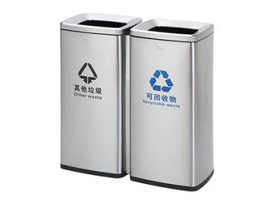 高端酒店用品—不锈钢垃圾桶制造厂家质量优质